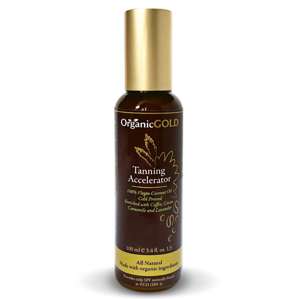 OrganicGOLD Virgin Coconut Tan Accelerator Oil