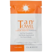 TanTowel Self Tan Towelette Classic individual packet