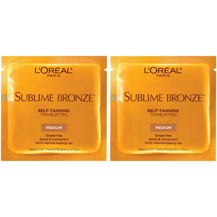 L'Oreal Paris Sublime Bronze Self Tanning Towelettes featured image