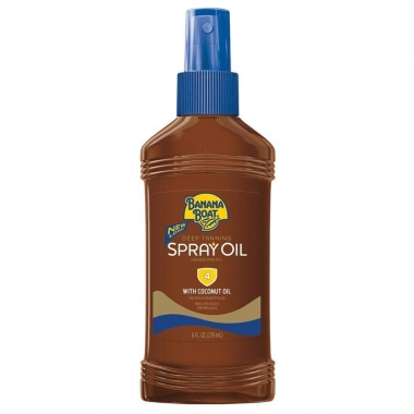 Banana Boat Dark Tanning Oil Spray SPF 4
