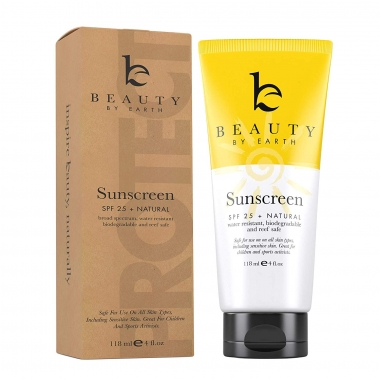 Beauty by Earth Sunscreen SPF 25